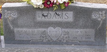 ADAMS, IRA VIRGIL - McDonald County, Missouri | IRA VIRGIL ADAMS - Missouri Gravestone Photos