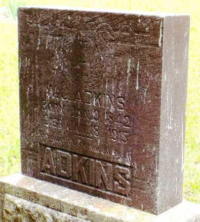 ADKINS, WILLIAM JASPER SR - McDonald County, Missouri | WILLIAM JASPER SR ADKINS - Missouri Gravestone Photos