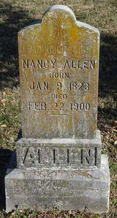 GRAVES ALLEN, NANCY - McDonald County, Missouri | NANCY GRAVES ALLEN - Missouri Gravestone Photos
