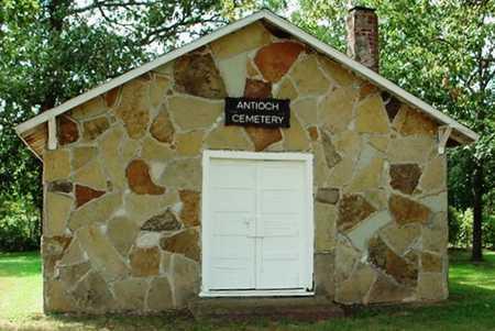 *, ANTIOCH CEMETERY - McDonald County, Missouri   ANTIOCH CEMETERY * - Missouri Gravestone Photos