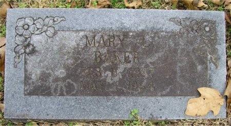 BAKER, MARY L - McDonald County, Missouri   MARY L BAKER - Missouri Gravestone Photos