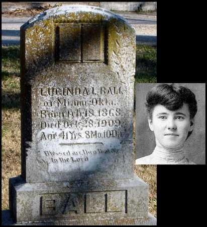 ROBERTS BALL, LUCINDA L - McDonald County, Missouri | LUCINDA L ROBERTS BALL - Missouri Gravestone Photos
