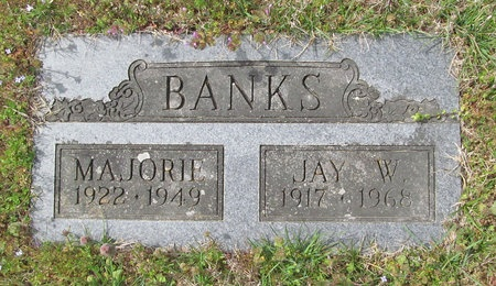 BANKS, JAY W - McDonald County, Missouri | JAY W BANKS - Missouri Gravestone Photos