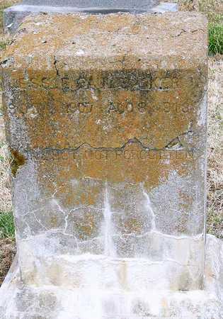 BARKER, JESSIE PAUL - McDonald County, Missouri | JESSIE PAUL BARKER - Missouri Gravestone Photos