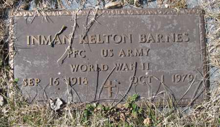 BARNES, INMAN KELTON (VETERAN WWII) - McDonald County, Missouri   INMAN KELTON (VETERAN WWII) BARNES - Missouri Gravestone Photos