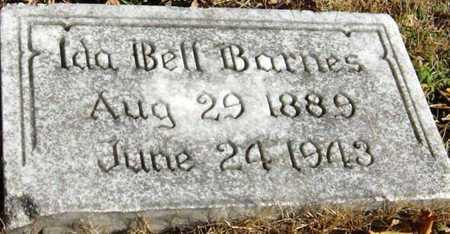 BARNES, IDA BELL - McDonald County, Missouri   IDA BELL BARNES - Missouri Gravestone Photos