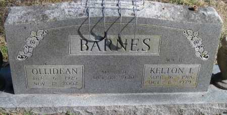BARNES, OLLIEDEAN - McDonald County, Missouri | OLLIEDEAN BARNES - Missouri Gravestone Photos
