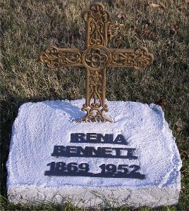 BENNETT, IRENIA - McDonald County, Missouri | IRENIA BENNETT - Missouri Gravestone Photos
