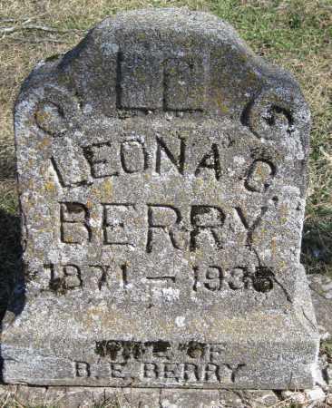 BERRY, LEONA G - McDonald County, Missouri | LEONA G BERRY - Missouri Gravestone Photos