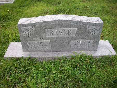 BEVER, FLOY - McDonald County, Missouri | FLOY BEVER - Missouri Gravestone Photos
