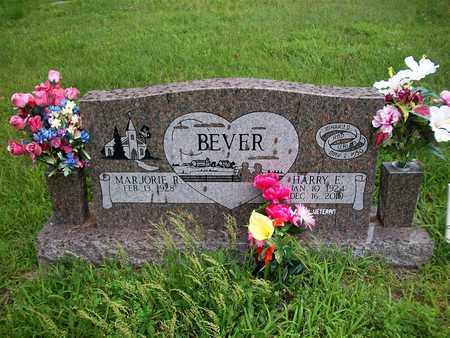 BEVER, HARRY - McDonald County, Missouri | HARRY BEVER - Missouri Gravestone Photos