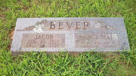 BEVER, JACOB - McDonald County, Missouri | JACOB BEVER - Missouri Gravestone Photos