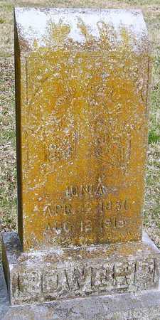 BOWDRE, IONIA - McDonald County, Missouri   IONIA BOWDRE - Missouri Gravestone Photos