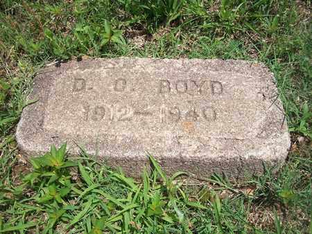 BOYD, DONNIE C. - McDonald County, Missouri   DONNIE C. BOYD - Missouri Gravestone Photos