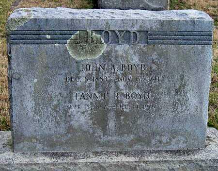 BOYD, FANNIE R - McDonald County, Missouri | FANNIE R BOYD - Missouri Gravestone Photos