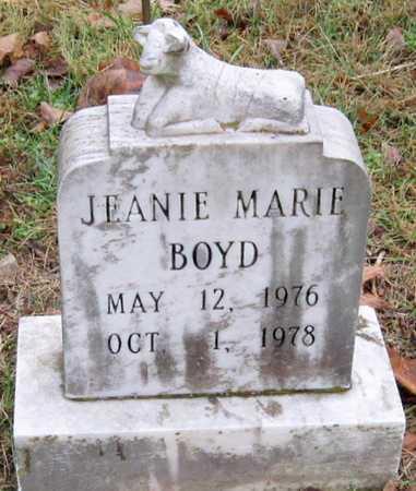 BOYD, JEANIE MARIE - McDonald County, Missouri   JEANIE MARIE BOYD - Missouri Gravestone Photos
