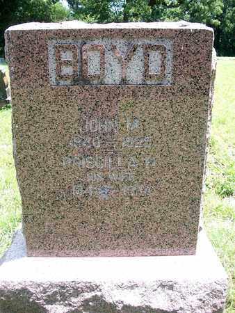 BOYD, PRISCILLA - McDonald County, Missouri | PRISCILLA BOYD - Missouri Gravestone Photos