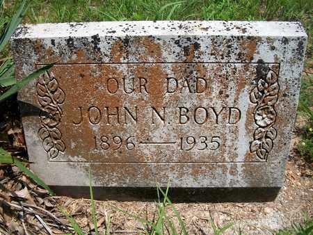 BOYD, JOHN N. - McDonald County, Missouri | JOHN N. BOYD - Missouri Gravestone Photos