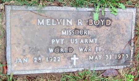 BOYD, MELVIN R VETERAN WWII - McDonald County, Missouri   MELVIN R VETERAN WWII BOYD - Missouri Gravestone Photos