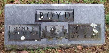 BOYD, MELVIN R - McDonald County, Missouri | MELVIN R BOYD - Missouri Gravestone Photos