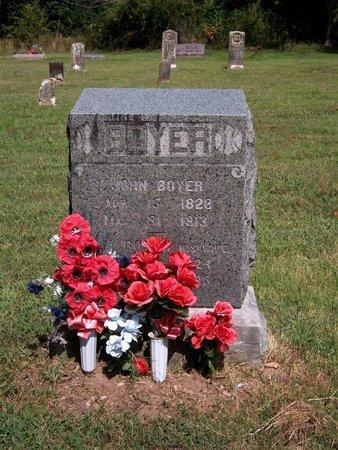 BOYER, ELIZABETH - McDonald County, Missouri   ELIZABETH BOYER - Missouri Gravestone Photos