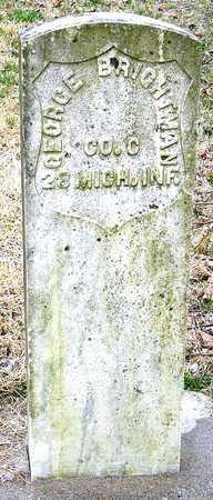 BRIGHTMAN, GEORGE RUSSELL DR (VETERAN UNION) - McDonald County, Missouri   GEORGE RUSSELL DR (VETERAN UNION) BRIGHTMAN - Missouri Gravestone Photos