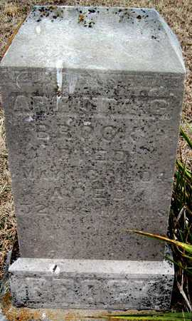 BROCK, ARMINDA CLEMENTINE - McDonald County, Missouri   ARMINDA CLEMENTINE BROCK - Missouri Gravestone Photos