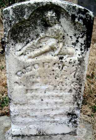 BROCK, GEORGE A - McDonald County, Missouri | GEORGE A BROCK - Missouri Gravestone Photos