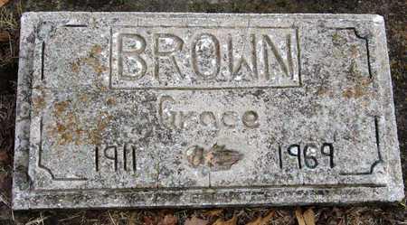 BROWN, GRACE AMY - McDonald County, Missouri | GRACE AMY BROWN - Missouri Gravestone Photos