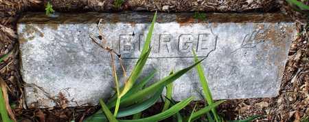 BURGE, MILLIE ANN - McDonald County, Missouri | MILLIE ANN BURGE - Missouri Gravestone Photos