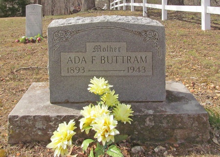 BUTTRAM, ADA F - McDonald County, Missouri | ADA F BUTTRAM - Missouri Gravestone Photos
