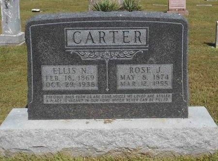 CARTER, ROSE J. - McDonald County, Missouri | ROSE J. CARTER - Missouri Gravestone Photos