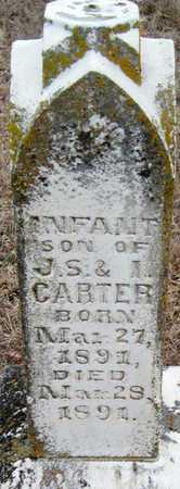 CARTER, INFANT SON - McDonald County, Missouri | INFANT SON CARTER - Missouri Gravestone Photos