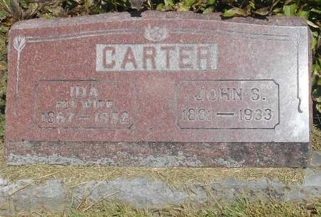 CARTER, IDA - McDonald County, Missouri | IDA CARTER - Missouri Gravestone Photos