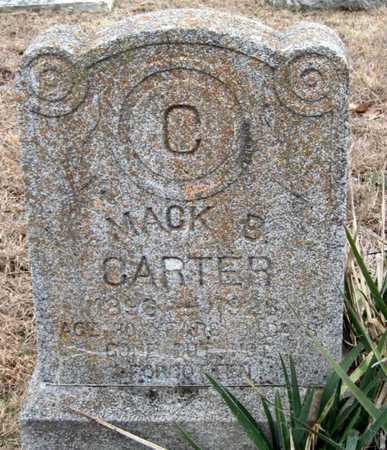 "CARTER, NATHAN B ""MACK"" - McDonald County, Missouri | NATHAN B ""MACK"" CARTER - Missouri Gravestone Photos"