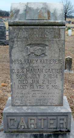 CARTER, NANCY KATHERENE - McDonald County, Missouri   NANCY KATHERENE CARTER - Missouri Gravestone Photos