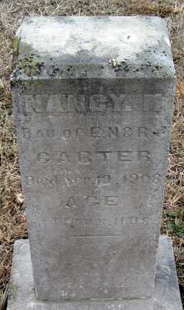 CARTER, NANCY MARIAH - McDonald County, Missouri | NANCY MARIAH CARTER - Missouri Gravestone Photos