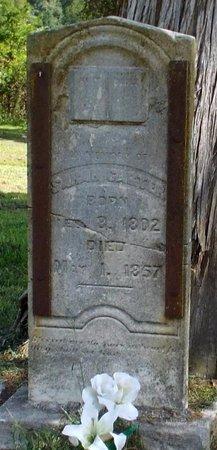 CARTER, SARAH - McDonald County, Missouri | SARAH CARTER - Missouri Gravestone Photos