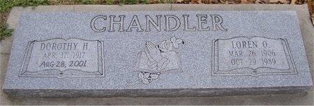 CHANDLER, DOROTHY H - McDonald County, Missouri | DOROTHY H CHANDLER - Missouri Gravestone Photos