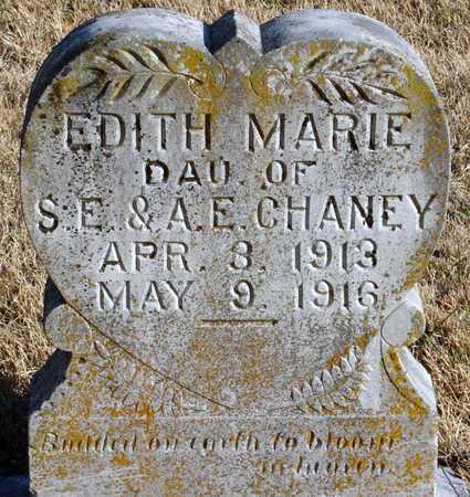 CHANEY, EDITH MARIE - McDonald County, Missouri   EDITH MARIE CHANEY - Missouri Gravestone Photos