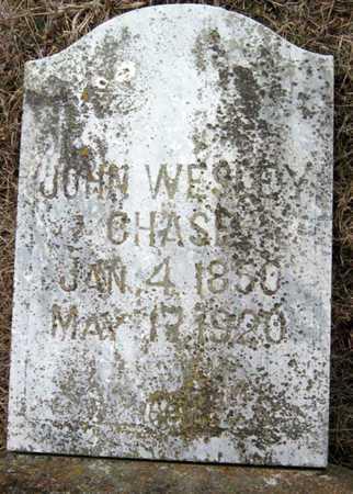 CHASE, JOHN WESLEY - McDonald County, Missouri | JOHN WESLEY CHASE - Missouri Gravestone Photos
