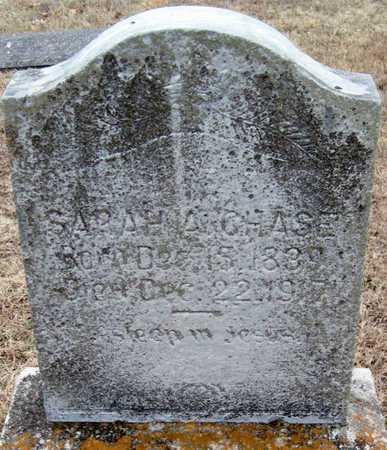 CHASE, SARAH A - McDonald County, Missouri | SARAH A CHASE - Missouri Gravestone Photos