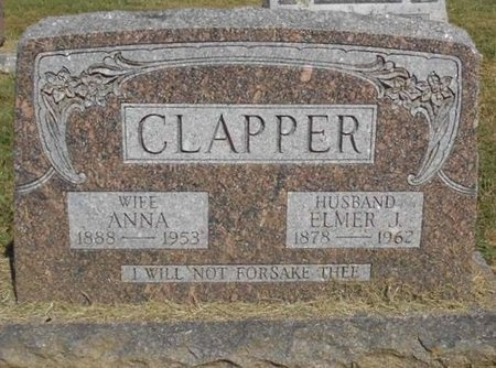 CLAPPER, ELMER J. - McDonald County, Missouri   ELMER J. CLAPPER - Missouri Gravestone Photos