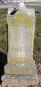 CLARK, BURWELL WASHINGTON - McDonald County, Missouri | BURWELL WASHINGTON CLARK - Missouri Gravestone Photos