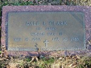 CLARK, DALE LEROY (VETERAN WWII) - McDonald County, Missouri | DALE LEROY (VETERAN WWII) CLARK - Missouri Gravestone Photos