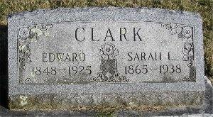 CLARK, EDWARD - McDonald County, Missouri   EDWARD CLARK - Missouri Gravestone Photos