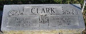 CLARK, DORWIN ROBERT - McDonald County, Missouri | DORWIN ROBERT CLARK - Missouri Gravestone Photos