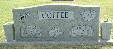 COFFEE, JUANITA ELLEN - McDonald County, Missouri | JUANITA ELLEN COFFEE - Missouri Gravestone Photos