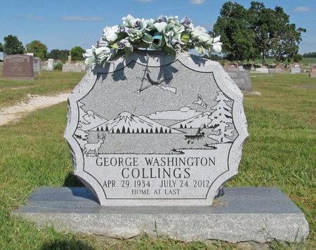 COLLINS, GEORGE WASHINGTON - McDonald County, Missouri | GEORGE WASHINGTON COLLINS - Missouri Gravestone Photos