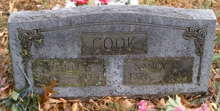 COOK, ARTHUR SIDNEY - McDonald County, Missouri | ARTHUR SIDNEY COOK - Missouri Gravestone Photos